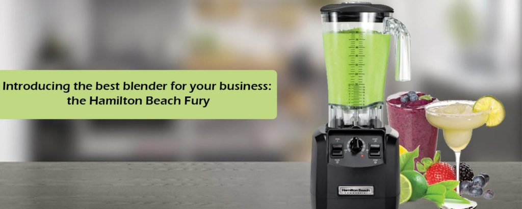 Introducing the best blender for your business: the Hamilton Beach Fury